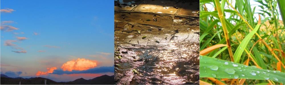 El ciclo del agua, Granja Escuela de Lucainena, Los Baños