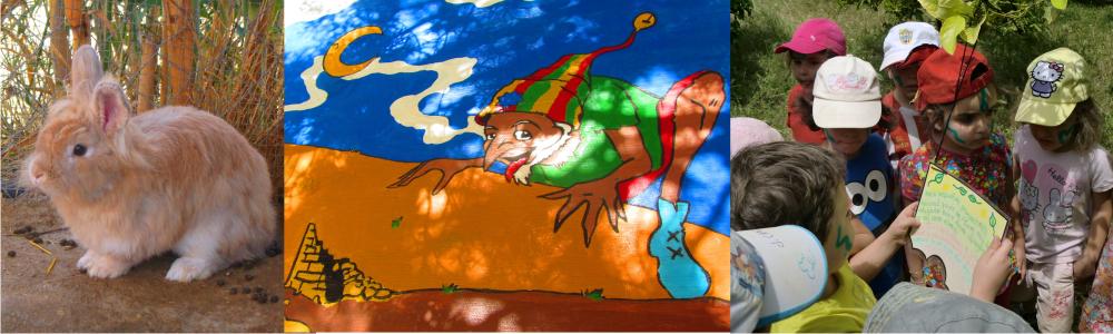 La granja animada de Triky, Granja Escuela de Lucainena, Los Baños